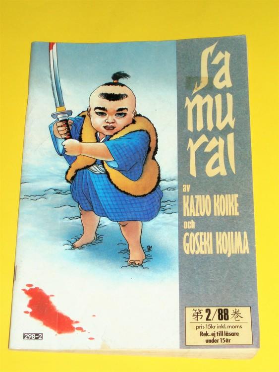 Samurai nr 2 1988, VG, normalskick, normalslitet, inga direkta defekter