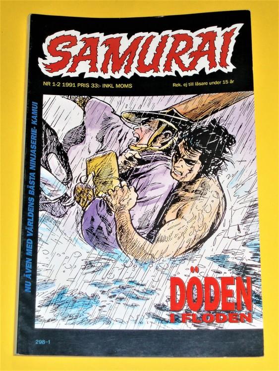 Samurai nr 1-2 -91, VG, normalskick, normalslitet, inga direkta defekter