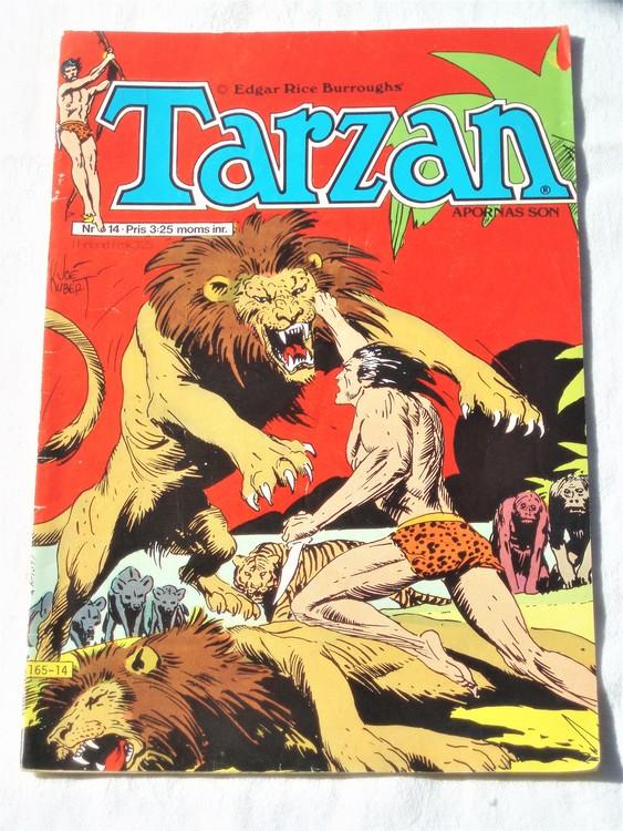 Tarzan nr 14, 1977 bra skick