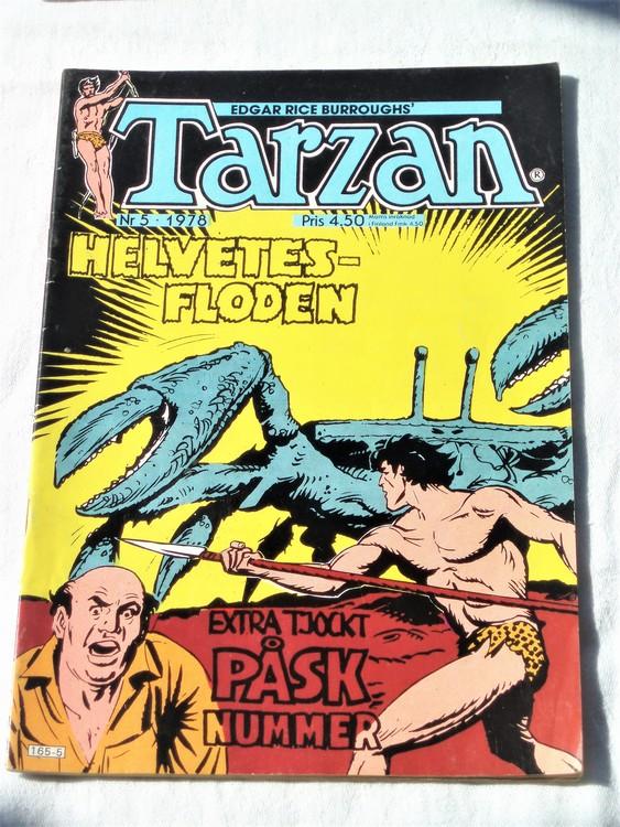 Tarzan nr 5, 1978 mycket bra skick