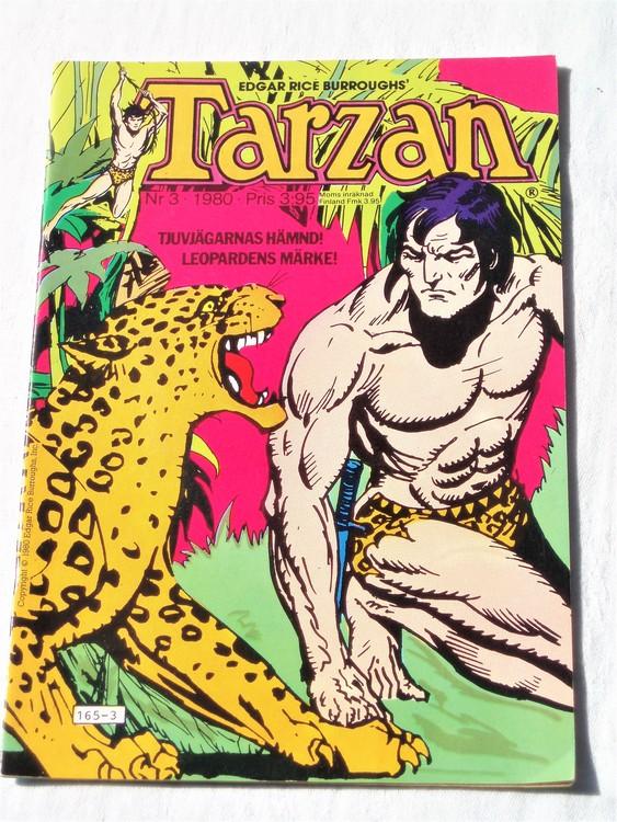 Tarzan nr 3, 1980 mycket bra skick