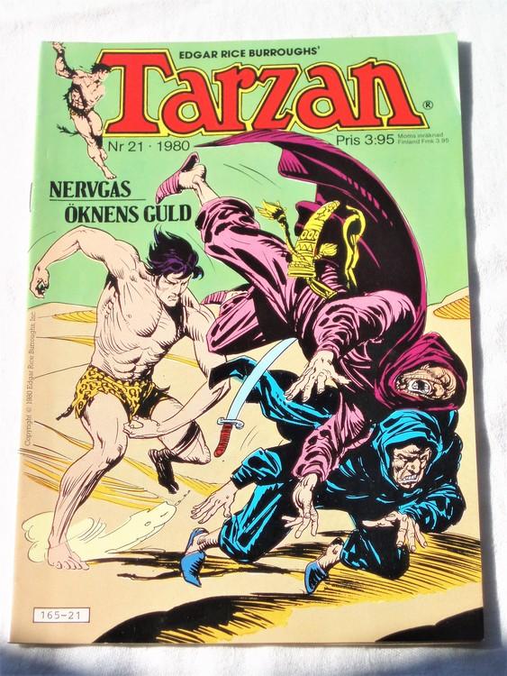 Tarzan nr 21, 1980 mycket bra skick