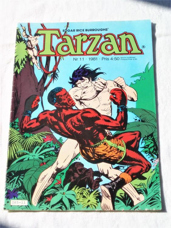Tarzan nr 11, 1981 mycket bra skick