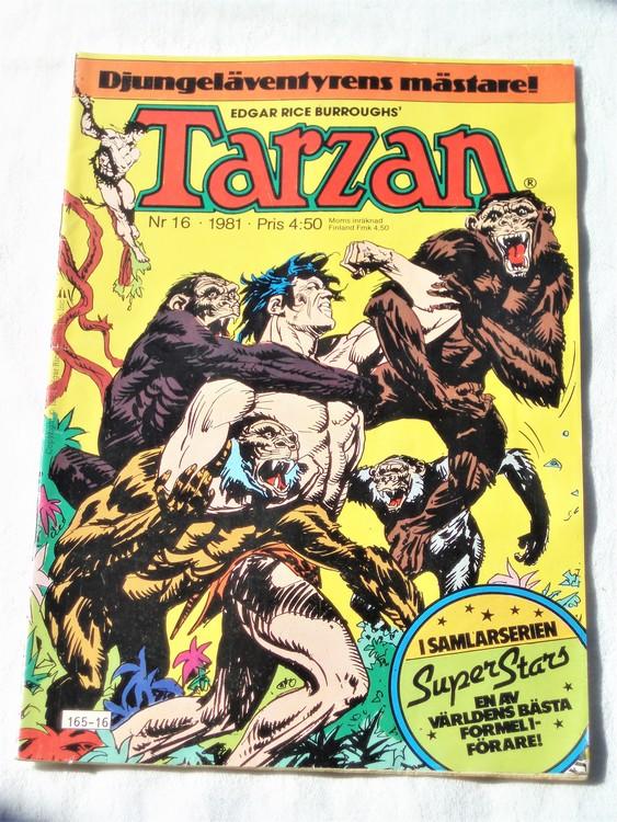 Tarzan nr 16, 1981 bra skick