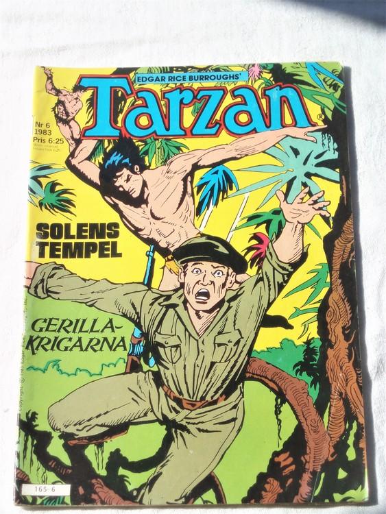 Tarzan nr 6, 1983 mycket bra skick