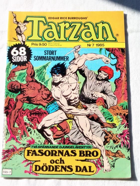 Tarzan nr 7, 1985 mycket bra skick