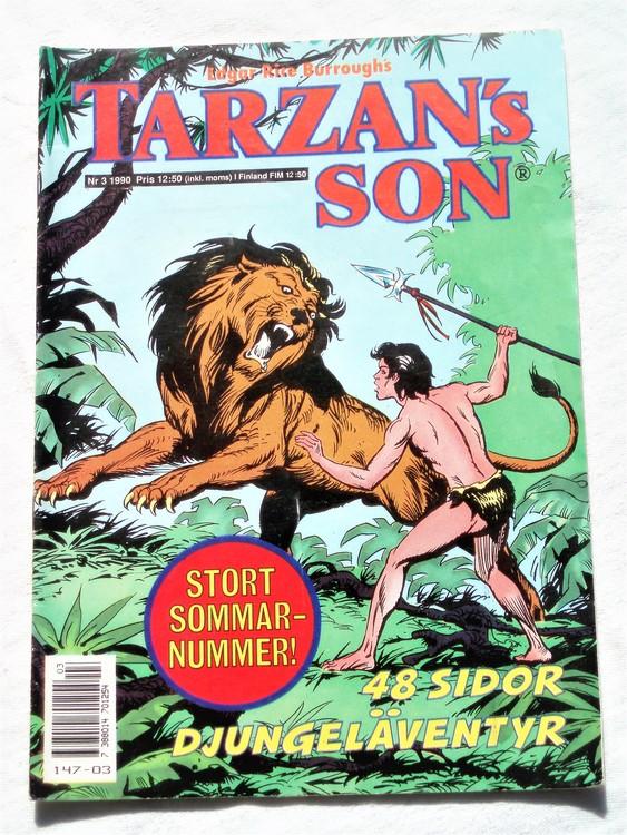 Tarzans Son nr 3, 1990 mycket bra skick