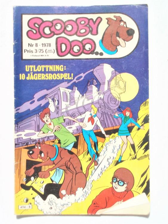 Scooby Doo nr 8 1978 normalslitet, normalskick