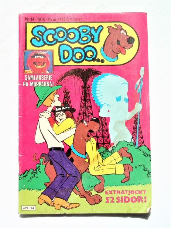 Scooby Doo nr 14 1978 normalslitet, normalskick
