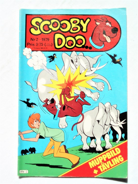 Scooby Doo nr 2 1979 normalslitet, normalskick