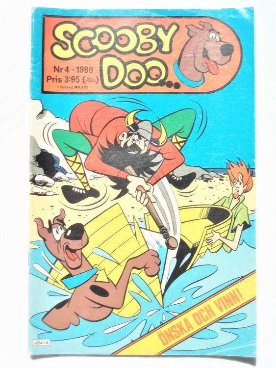 Scooby Doo nr 4 1980 normalslitet, normalskick