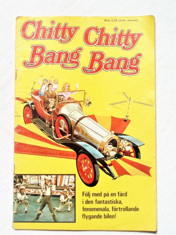 Chitty Chitty Bang Bang 1968/69 sliten rygg,lite kladd 2:a sidan