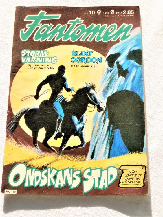 Fantomen nr 10 1976 mycket bra skick ny oläst