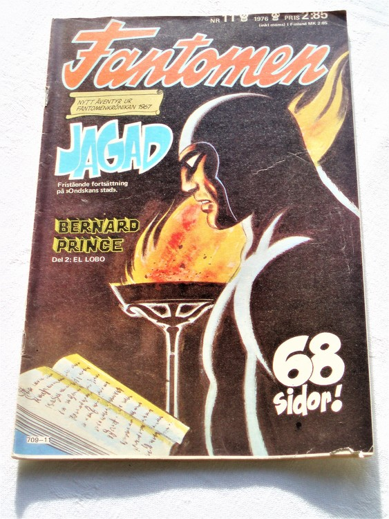 Fantomen nr 11 1976 mycket bra skick ny oläst