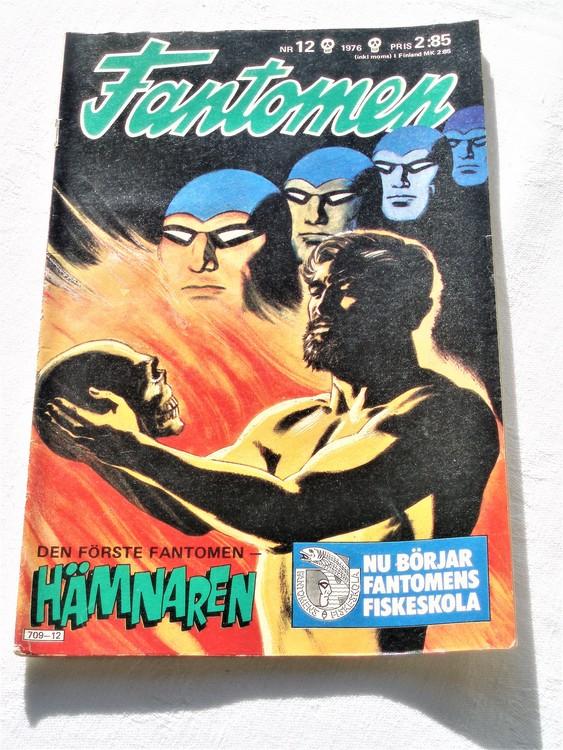 Fantomen nr 12 1976 mycket bra skick ny oläst