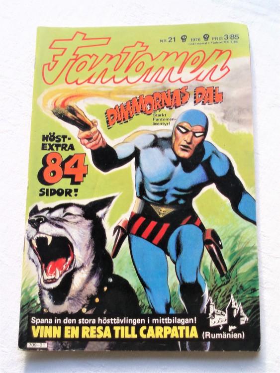 Fantomen nr 21 1976 mycket bra skick ny oläst