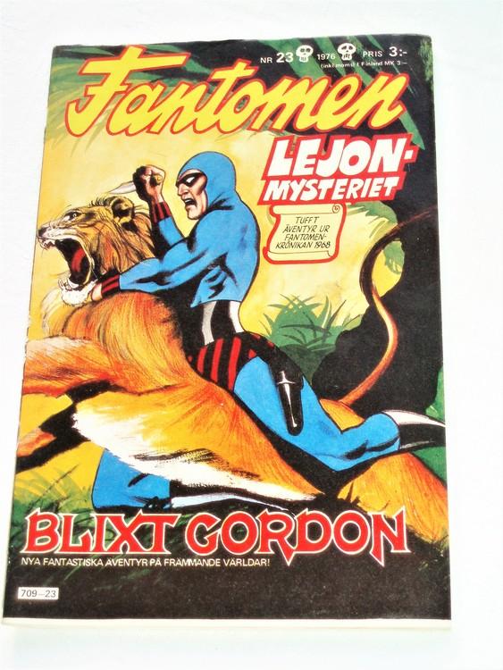 Fantomen nr 23 1976 mycket bra skick ny oläst