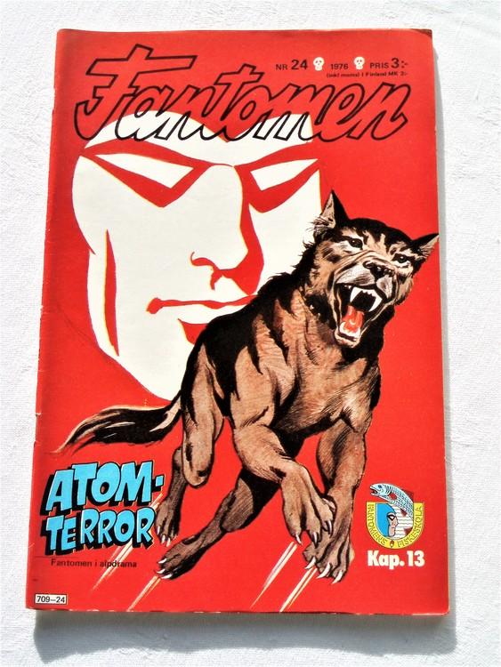 Fantomen nr 24 1976 mycket bra skick ny oläst