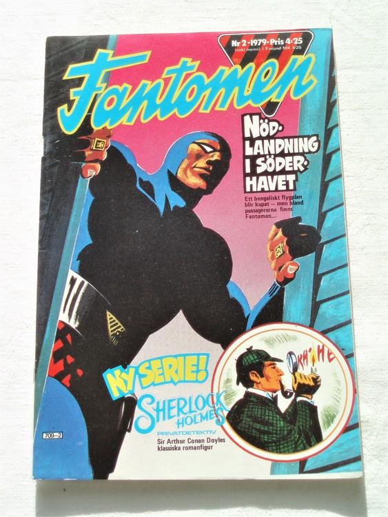 Fantomen nr 2 1979 mycket bra skick ny oläst