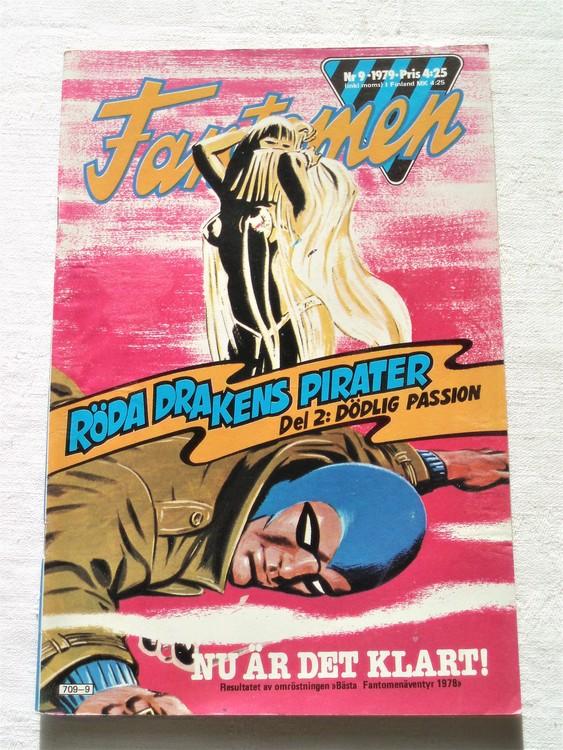 Fantomen nr 9 1979 mycket bra skick ny oläst