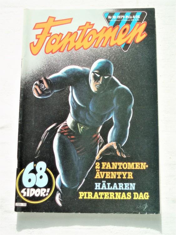 Fantomen nr 10 1979 mycket bra skick ny oläst 68 sidor