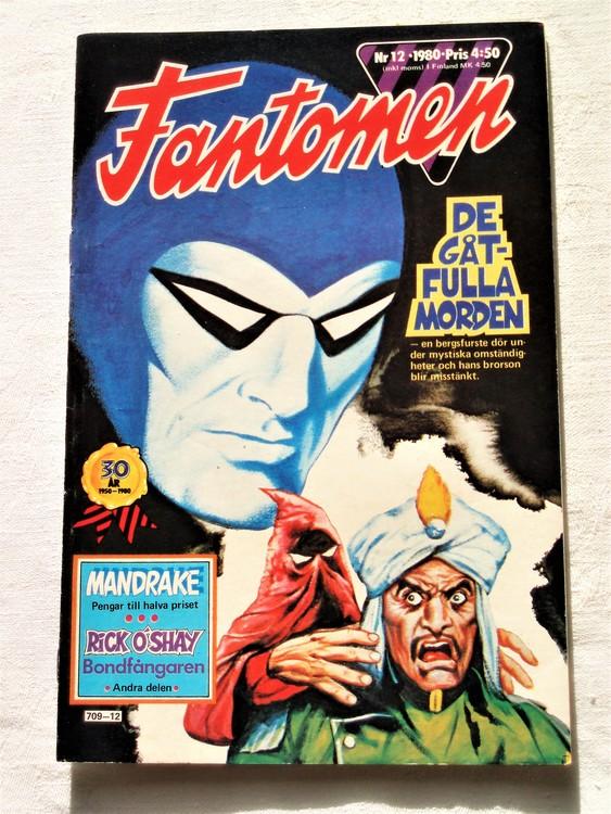 Fantomen nr 12 1980 bättre skick