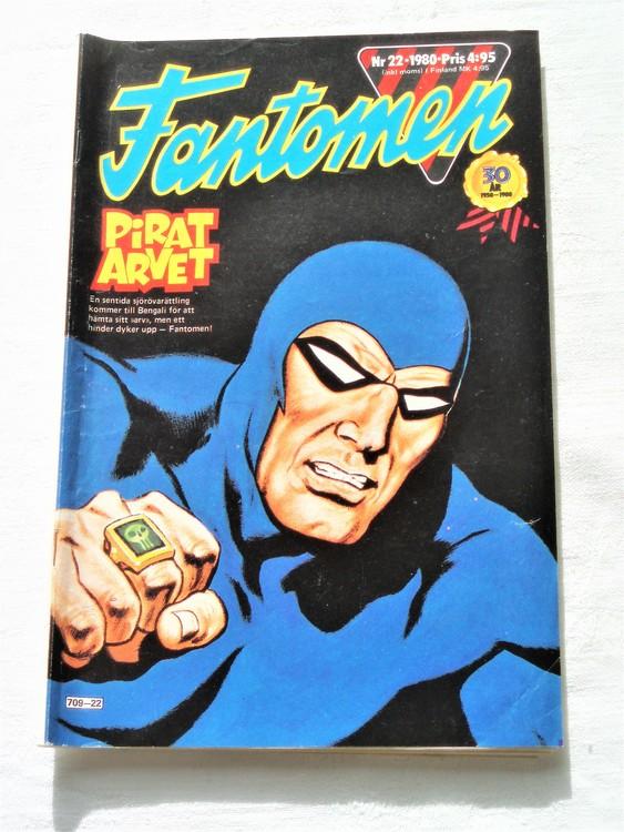 Fantomen nr 22 1980 bra skick