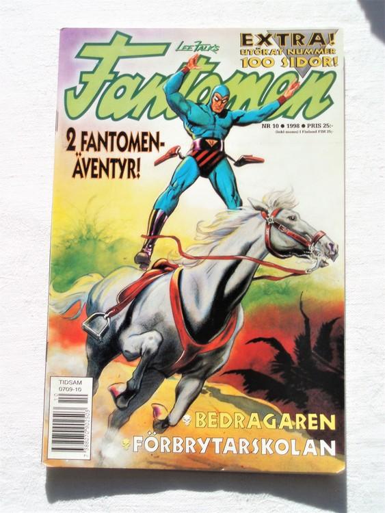 Fantomen nr 10 1998 bättre skick,100 sidor