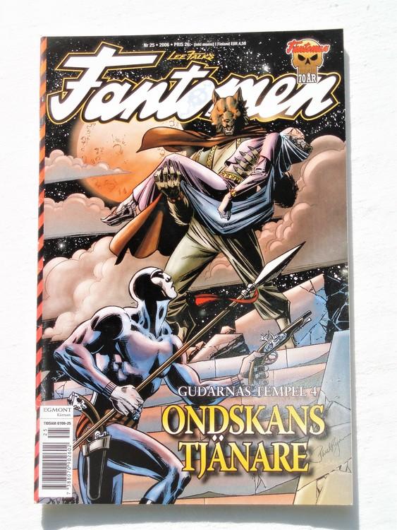 Fantomen nr 25 2006 bättre skick,special 104 sidor