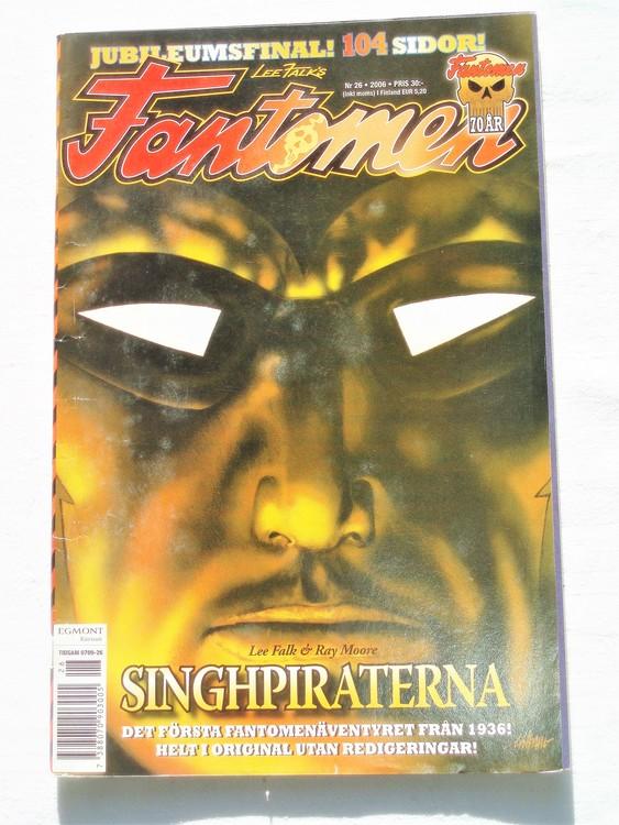 Fantomen nr 26 2006 bättre skick,special 104 sidor