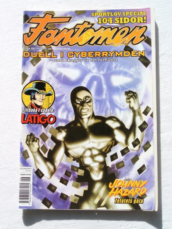 Fantomen nr 6 2007 bättre skick,special 104 sidor