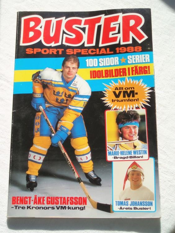 """Buster """"Sport Special"""" 1988 album, semic, bättre skick"""