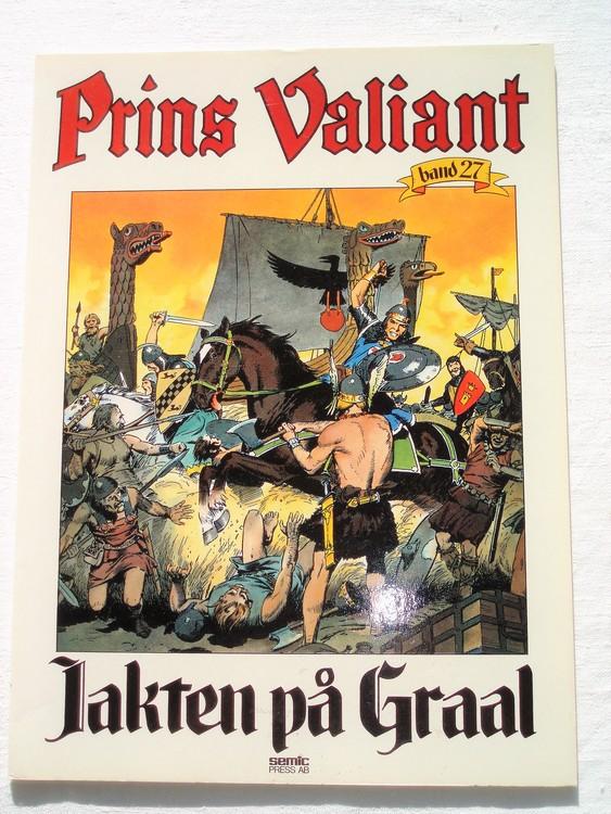 """Prins Valiant""""Jakten på Graal""""Band 27,1984 mycket bra skick,ny oläst"""