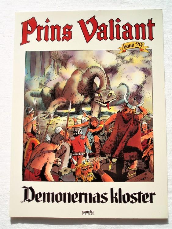 """Prins Valiant""""Demonernas Kloster""""Band 29,1985 mycket bra skick,ny oläst"""