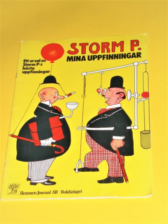 """Storm P""""Mina uppfinningar""""1974 VG normal skick,normalslitet, hemmets J"""