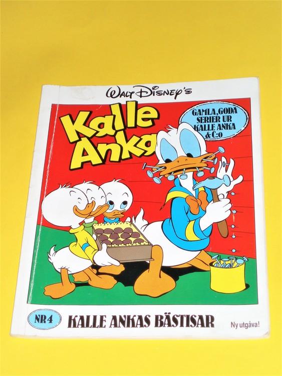 """Kalle Anka """"Bästisar""""nr 4 1989 normalslitet, normal skick"""