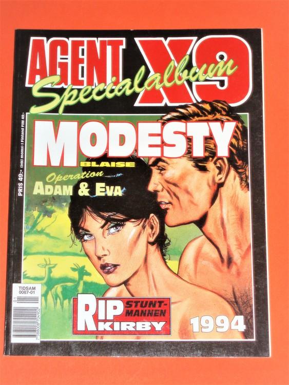 Agent x9 Specialalbum 1994. Grundskick VF-NM