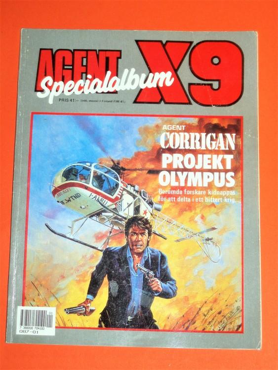 Agent X9 Specialalbum.Bättre skick