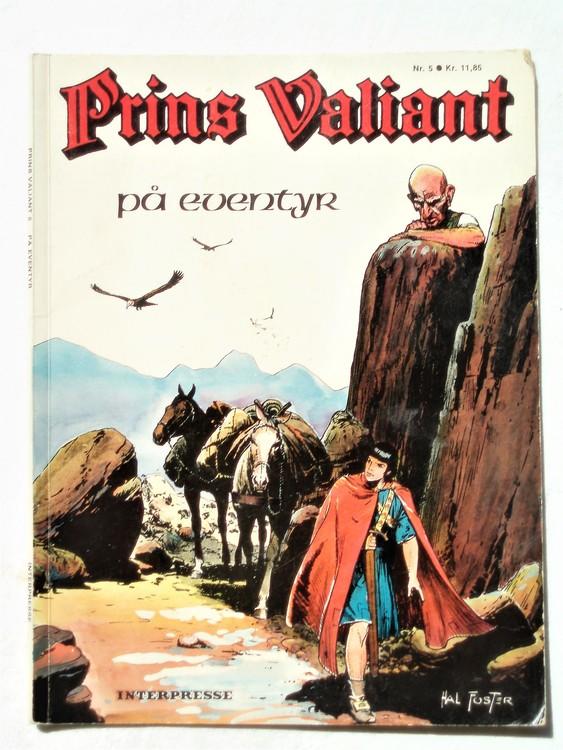 """Prins Valiant """"På Eventyr"""" Norska nr 5 mycket bra skick"""
