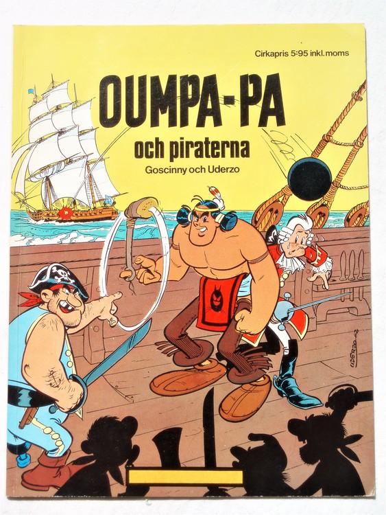 Oumpa-Pa och Piraterna Hemmets journal mycket bra skick