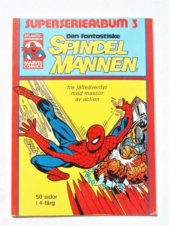 Spindelmannen marvel comics nr3 50 sidor i 4-färg bättre skick