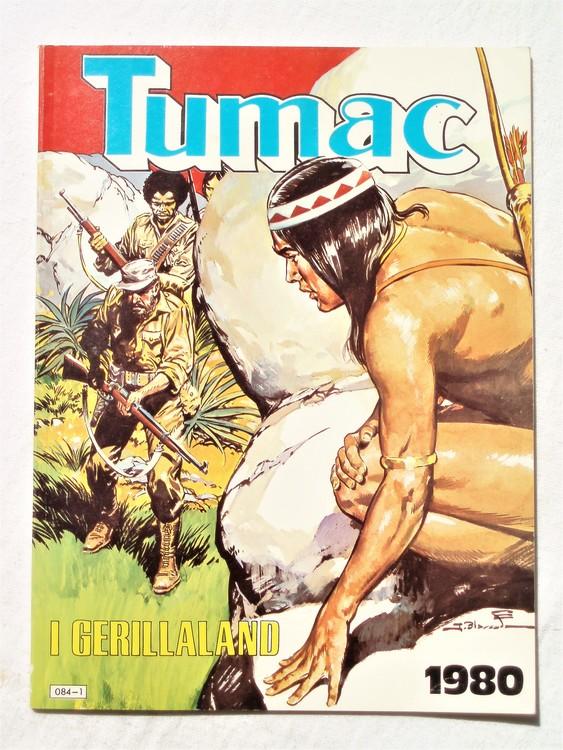 Tumac i gerillaland 1980 Semic mycket bra skick