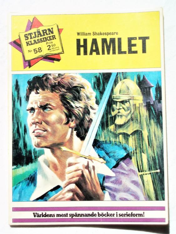 """Stjärnklassiker nr 58""""Hamlet"""",färg, Mycket bra skick"""