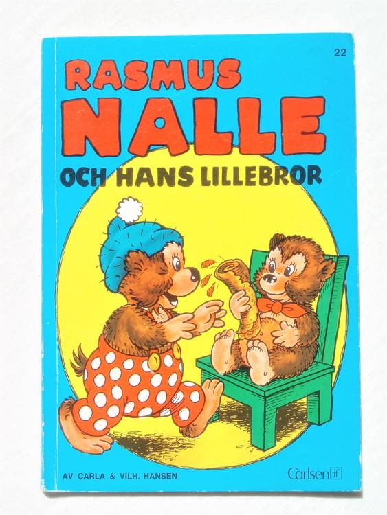 Rasmus Nalle och hans lillebror 1973 2:a upplagan, mycket bra skick