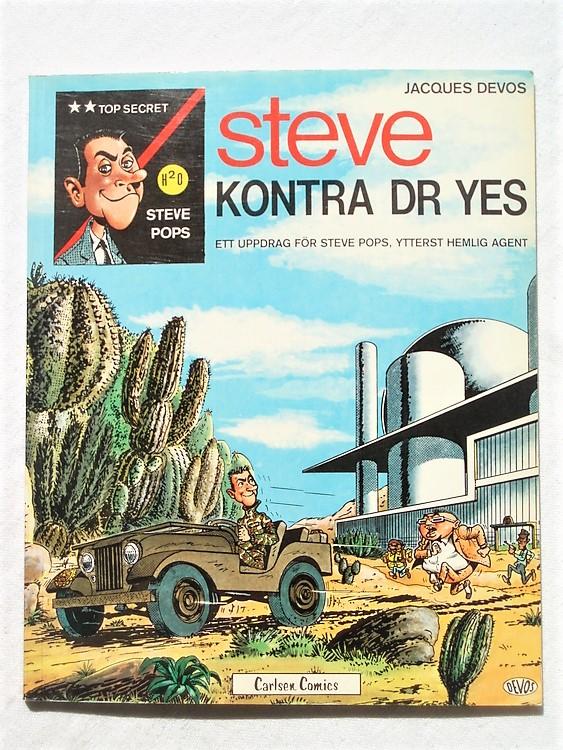 Steve Kontra Dr Yes 1980 1.a upplagan Mycket bra skick-Oläst.