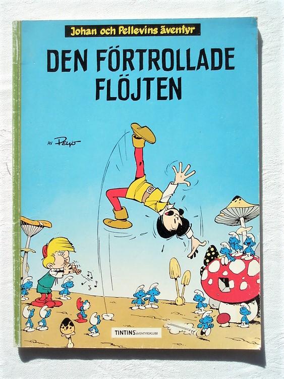 """Johan och Pellevin""""Den Förtrollade Flöjten""""1990,bättre skick"""