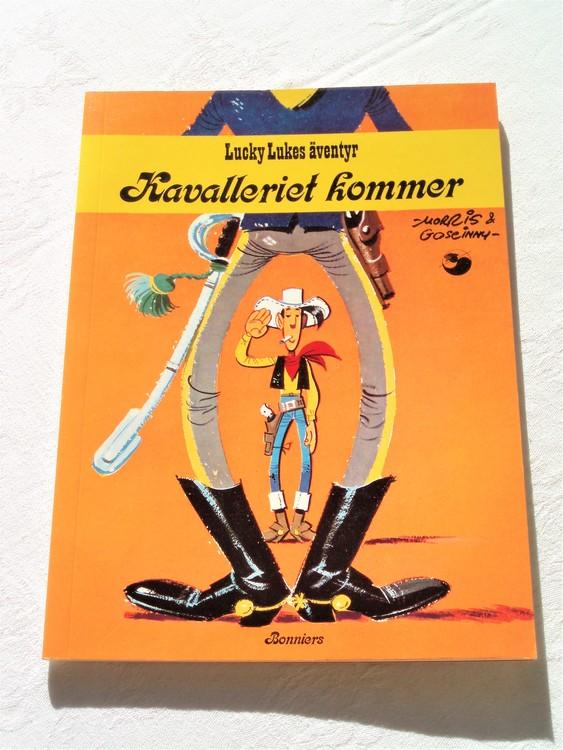 """Lucky Luke""""Kavalleriet kommer""""nr27,1:a,upplaga 1977 Bonniers Ny oläst"""