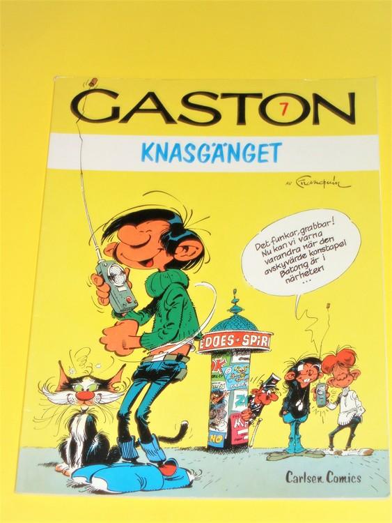 Gaston Knasgänget, VG,nr7 normalskick,inga direkta defekter