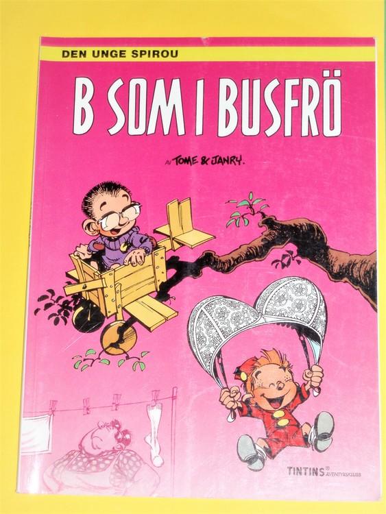 Spirou B som i Busfrö, VG, normalskick,inga direkta defekter