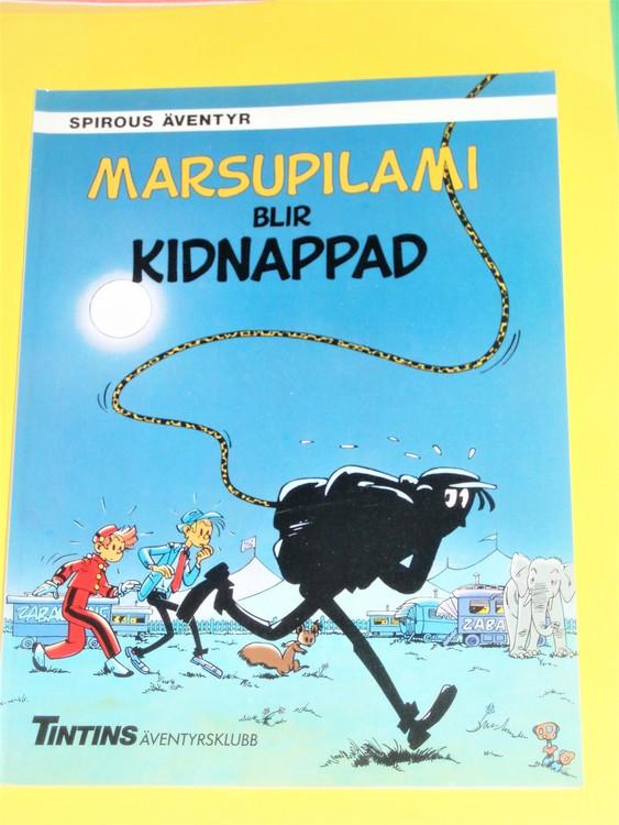 Spirou Marsupilami blir kidnappad, VG, normalskick,inga direkta fel